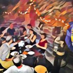 Sie saßen und tranken am Teetisch - Heinrich Heine