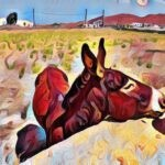 Die beiden Esel - Christian Morgenstern